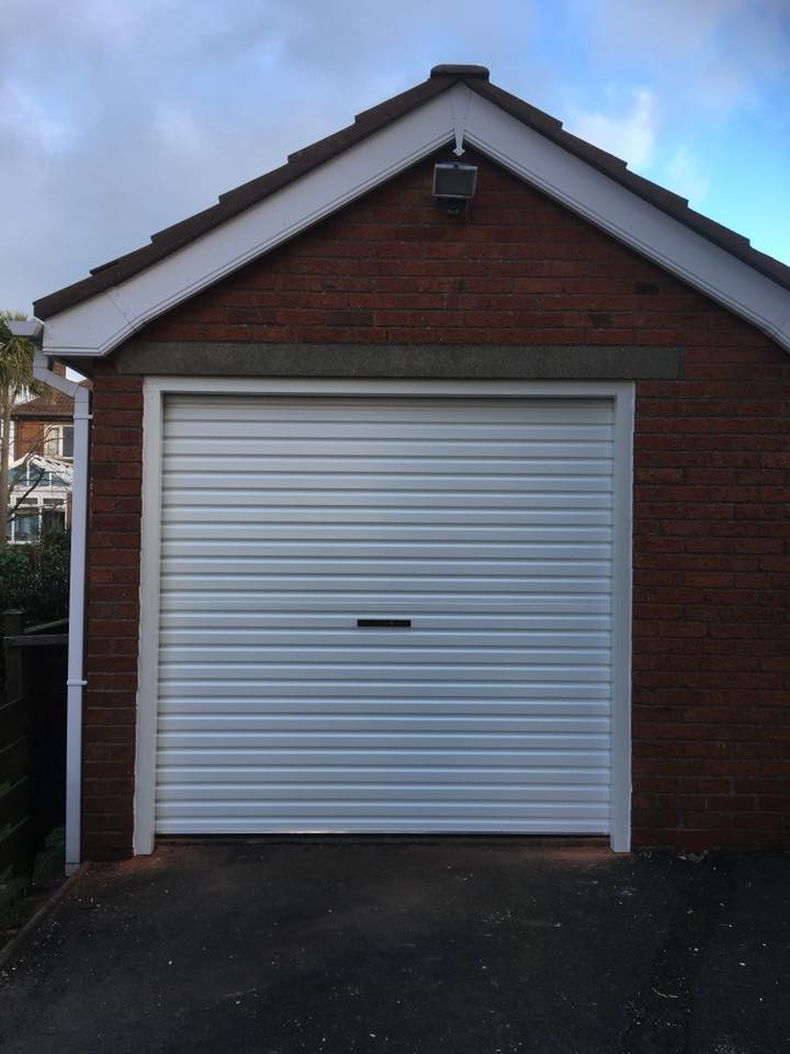 White Garage After